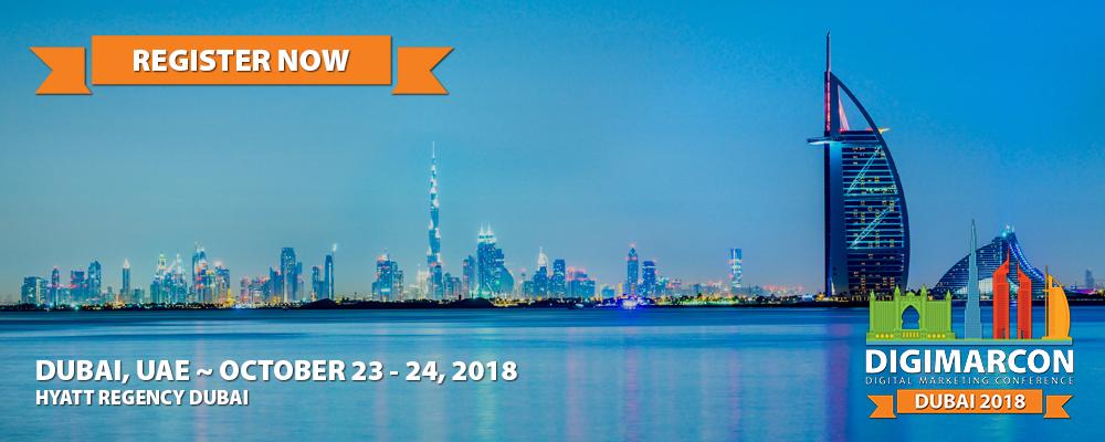 DigiMarCon Dubai 2018 Register